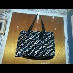 I just discovered this while shopping on Poshmark: Pandora Tote Bag. Check it out!  Size: Large Tote Bag