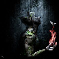 Dismantle The Dark We March On - Official Page of Visionary Artist Cameron Gray