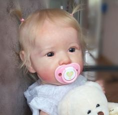 Realistic Reborn Baby Doll Girl Bianca, Special Gift by Myrebor – Truly reborn dolls Real Life Baby Dolls, Cute Baby Dolls, Newborn Baby Dolls, Baby Girl Dolls, Boy Doll, Cute Babies, Reborn Toddler Dolls, Reborn Dolls, Silicone Reborn Babies