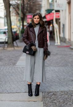 Street Style Berlin Fashion Week Januar 2016 | POPSUGAR Deutschland Mode