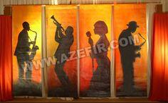 Jazz decoration