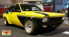 Opel Kadett C GTE Rallye Oldtimer Oldschool ATS schwarz gelb verbreitert ROB Garage tuning Motorsport racing 70s