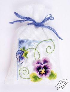 Purple Violet - Cross Stitch Kits by VERVACO - PN-0145102