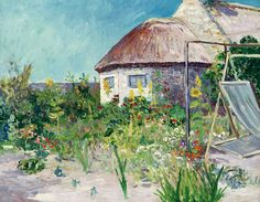"maufra maxime the studio and the artists house at kervaudu sotheby (from <a href=""http://www.oldpainters.org/picture.php?/30171/category/13215""></a>)"