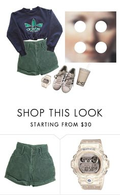 """""""Adidas"""" by moth-wings ❤ liked on Polyvore featuring adidas and Baby-G"""