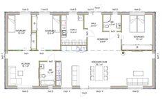 House Plans, Floor Plans, Cottage, Flooring, How To Plan, Architecture, Decoration, Building, Home