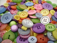 buttons - love this color palette