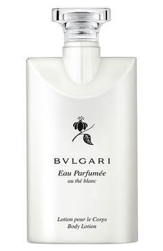 for meeee - BVLGARI 'Eau Parfumée au thé blanc' Body Lotion available at #Nordstrom. Best lotion ever.