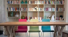 Trevone Farm, Cornwall Bookshelves, Bookcase, Secret Escapes, Modern Cottage, Cornwall, Corner Desk, Home And Garden, Lounge, Dining