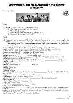 Introduction to Conditionals with The Big Bang Theory - English ESL Worksheets ⭐️ Pin for later ⏳ thesis research paper example, definition descriptive, essay about persuasion, pay for essays, free essay generator, college format paper