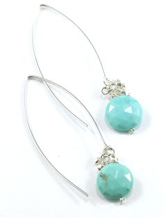 Lexi Earrings - Turquoise