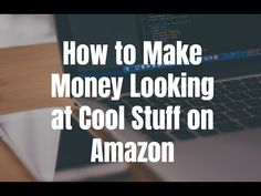 How to make money looking at cool stuff on Amazon and other sites. Visit http://ift.tt/2iGSSLd for video notes related content and helpful resources mentioned.  Let's Connect! Twitter - https://twitter.com/MrJustinBryant  Facebook - http://ift.tt/1LQomnx  Google - http://ift.tt/1PaQTrN  In this video you will learn how to make money looking at cool stuff on Amazon. We all look at gift ideas gadgets home decor supplements and all kinds of other stuff on websites like Amazon all the time but…