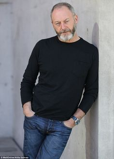 Seaworthy star: Liam Cunningham at the Museum Of Contemporary Art in Sydney ahead of the Game Of Thrones exhibition
