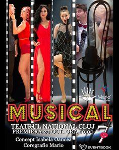 """CONCURS clujescu.ro. Nu rataţi şansa de a câştiga bilete la spectacolul """"Musical 7""""! Atelier"""