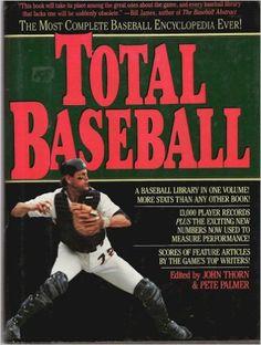 Total baseball (A Baseball ink book): John & Pete Palmer Thorn: 9780446513890: Amazon.com: Books