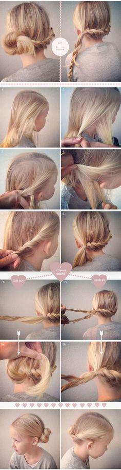 peinados facile para niñas