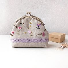 Embroidery Purse, Crewel Embroidery, Most Favorite, Pouches, Coin Purse, Delicate, Cases, Stitch, Wallet