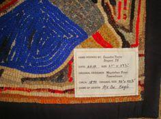 Saundra of Woodland Junction: Making Rug Labels