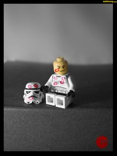 Everyone loves a stormtrooper by Z199Y360 | LEGO Star Wars Stormtrooper Minifig