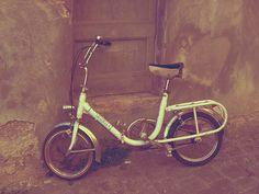 little wheels | vintage Graziella folding bike