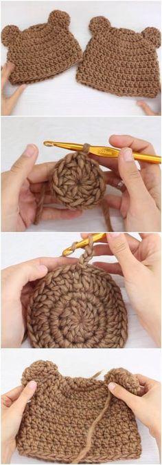 Crochet Beautiful Beanie Hat I