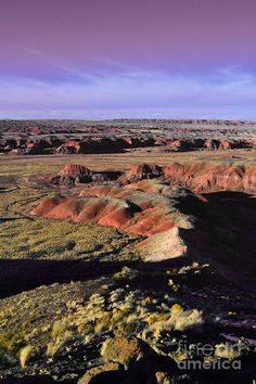 ✯ The Painted Desert, Arizona - A MUST SEE!  We loved the beauty!