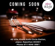 Exciting culinary experiences that promise to hit every taste bud, #JaipurAdda is coming soon.. Stay tuned.. #FoodVentures #Restaurant #Jaipur #Foodies #RestaurantsinJaipur #JaipurFoodLovers #FoodNBeverages #FNB Jaipur, India Jaipur Rangeelo Rajasthan Rajasthan Travel & Tourism