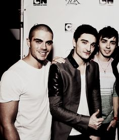 max george, tom parker, and nathan sykes