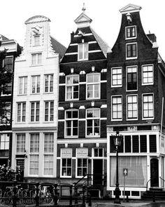 Amsterdam Photography Amsterdam Print Modern by ItBeganInParis