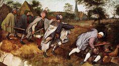 """Brueghel el Viejo """"La parábola de los ciegos""""."""