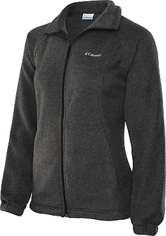 COLUMBIA Women's Benton Springs Full-Zip Fleece Jacket - SportsAuthority.com in Charcoal Grey