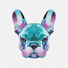 French Bulldog – Playful and Smart French Bulldog Tattoo, French Bulldog Art, French Bulldog Puppies, French Bulldogs, Totenkopf Tattoos, Dog Portraits, Animal Paintings, Fur Babies, Cute Dogs
