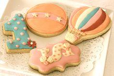 Circus Inspired Sugar Cookies