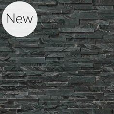 Bring a unique presence to your living space with this excellent MSI Glacial Black Ledger Panel Honed Marble Wall Tile. Stone Cladding Texture, Stone Texture, Honed Marble, Marble Wall, Stone Mosaic, Stone Tiles, Marble Stones, Nevada, Stacked Stone Panels