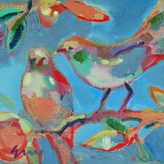 you do this...bird paintings by erin fitzhugh gregory
