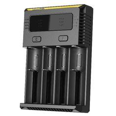 Nitecore NEW I4 Intellicharger Smart Charger For Li-ion/IMR/LiFePO4 Battery