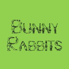 Bunny Rabbits   Dafont