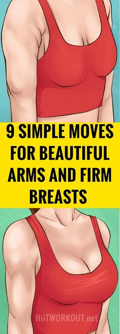 Chest Workout: 9 simple Moves for beautiful arms and firm breasts - hiit workout Posture Fix, Bad Posture, Chest Muscles, Back Muscles, Chest Workouts, At Home Workouts, Chest Workout Women, Chest Exercises, Breast Muscle
