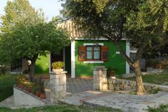 2 bed House in Vassilikos - 71206 - Lithies House Villa 2 Bed House, Trip Advisor, Terrace, Small Hotels, Greece, Villa, Outdoor Structures, Island, Top Rated