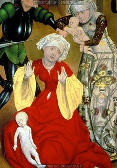 (1469-1480) Austria - detail of an altar painting by Meister des Schottenaltars in Schottenstift - Massacre of the Innocents http://tethys.imareal.oeaw.ac.at/realonline/ no. 000305