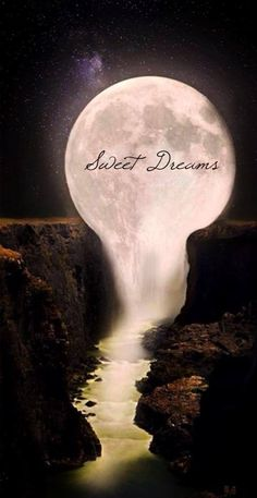 Sweet dreams are coming your way....