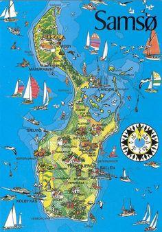Samso Island in Denmark