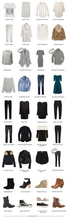 How To Create A Capsule Wardrobe | Lisa Villaume