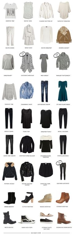 How To Create A Capsule Wardrobe | Lisa Villaume