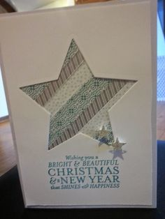 Stampin' Obsessed!: Bright & Beautiful Christmas
