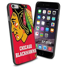"NHL Chicago Blackhawks iPhone 6 4.7"" Case Cover Protector for iPhone 6 TPU Rubber Case SHUMMA http://www.amazon.com/dp/B00WTW3NOW/ref=cm_sw_r_pi_dp_UmScwb0RWD6YG"
