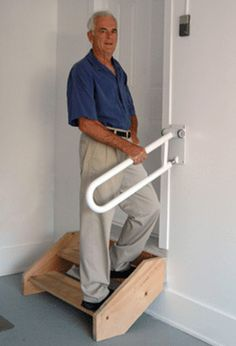 StairSteady Inventor Created The Stability Bar To Aid