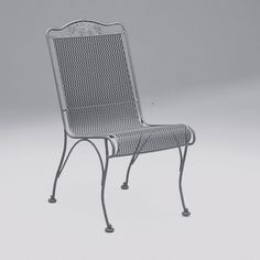 woodard briarwood high back dining side chair