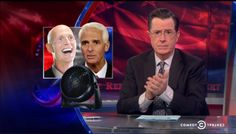 "Last night, Stephen took a look at Florida's incredible gubernatorial debate controversy, ""Fangate."" Warning: Things are about to get very Florida.  Stephen Colbert on Fangate: Rick Scott was 'blown away'"
