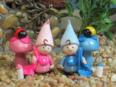 Baby Gnome for Fairy Garden OOAK by WeeBrigadoon on Etsy, $15.00